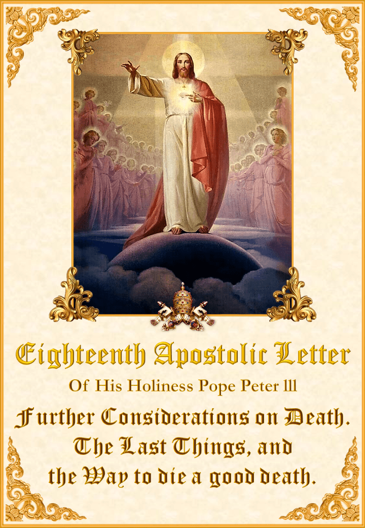 Eighteenth Apostolic Letter of His Holiness Pope Peter III<br><br>Vedeți mai departe</a>